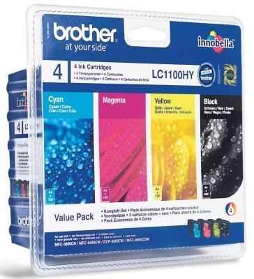 Ver Brother pack 4 cartuchos negro amarillo cyan magen