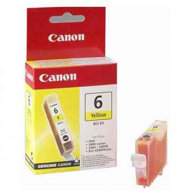 Ver CANON Cartucho BCI-6Y Amarillo IP40005000MP750