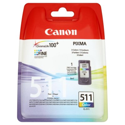 Canon Cartucho Cl-511color Ip2700mp230 Blister