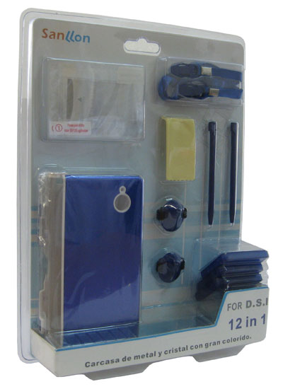 Cable Window Kit 12 En 1 Para Dsi Azul