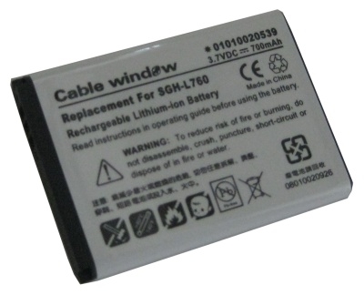 Cable Window Sgh-l760 Bateria Recargable De Litio