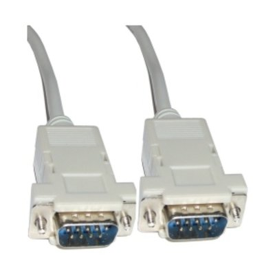 Cable serie RS232 DB9M-DB9M 5 Metros