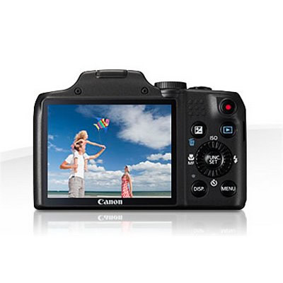 Canon Camara Powershot Sx170 Is 16mp Negra
