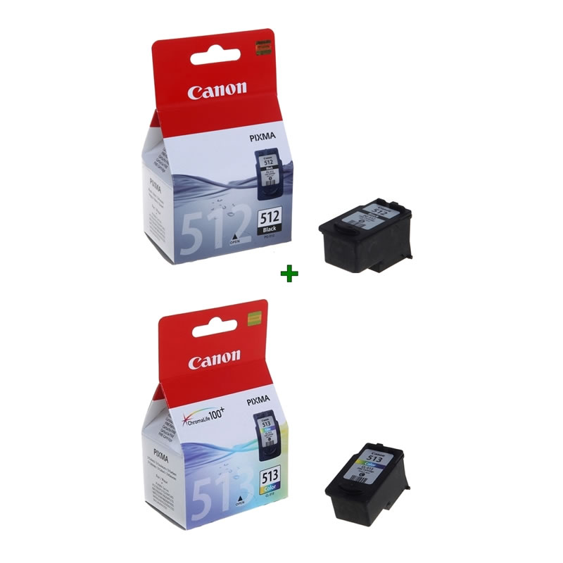 Canon Cartucho Pack Pg512 Cl513