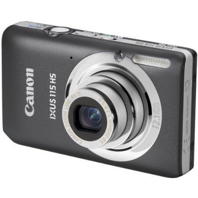 Canon Ixus 115hs 121mpx Zoom 4x Lcd 3 0 Gris