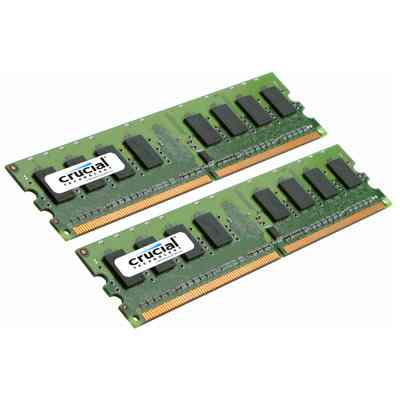 Ver Crucial CT2KIT25672AA80EA 4GB 2GB 2GB  DDR2 800MHz
