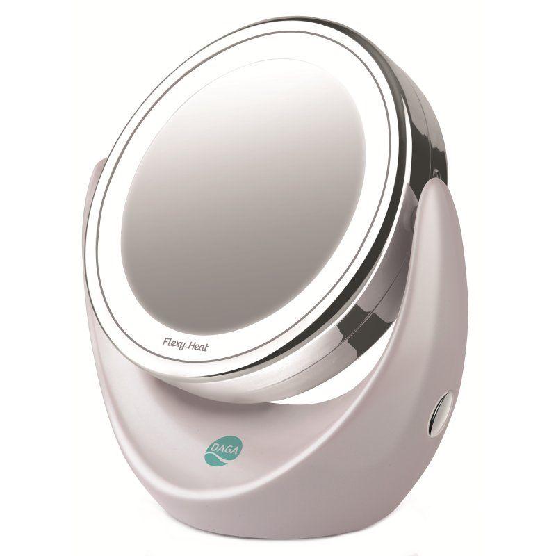 Iluminacion daga ef 50 espejo facial led 360 for Espejo 20 aumentos