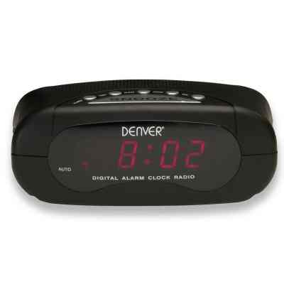 Denver Radio Reloj Despertador Cr 733 Pant Led