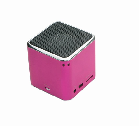Denver Sp 6 Altavoz Aluminio Portatil Mp3 Rosa