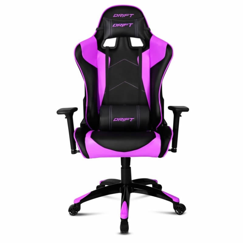 Ver Drift DR300 Negro Purpura Silla Gaming