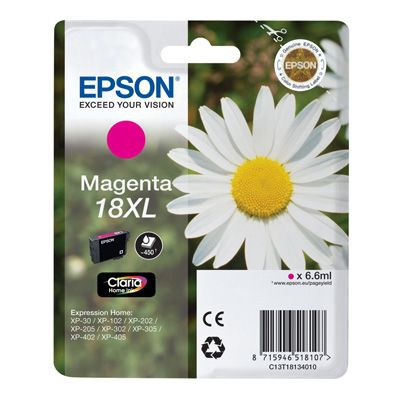 EPSON Cartucho T1813XL Magenta XP225322422