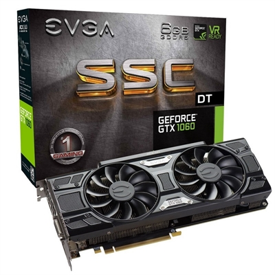 EVGA GTX 1060 SSC DT 6GB DDR5