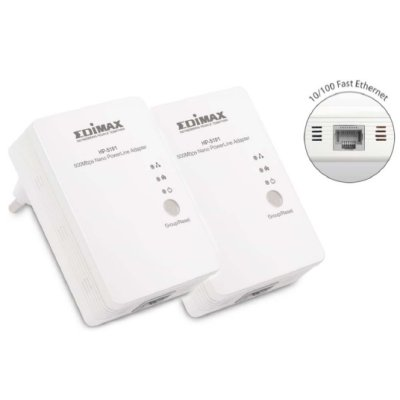 Edimax Hp-5101k Kit Powerline Nano 500mbps Hdiptv