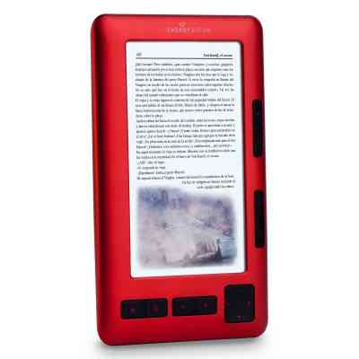 Energy 1052 Ruby Red Ebook 5 Tft Lcd Color