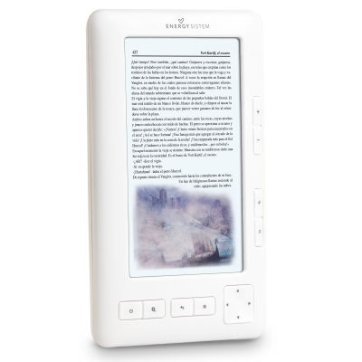 Energy 1054 Arctic White Ebook 5 Tft Lcd Color