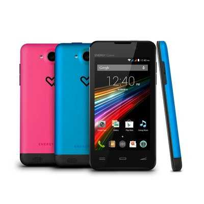 Ver Energy Phone Colors 40 WVGA D13GHz 4GB 2xSIM 3C