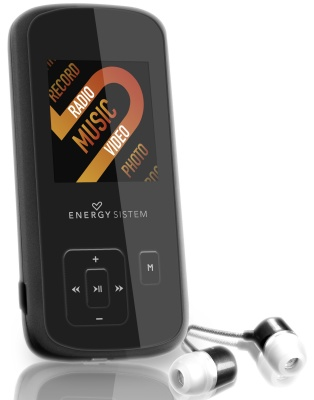 Energy Sistem 2208 Dark Iron 8gb Lcd 15 Mp4  Lpi