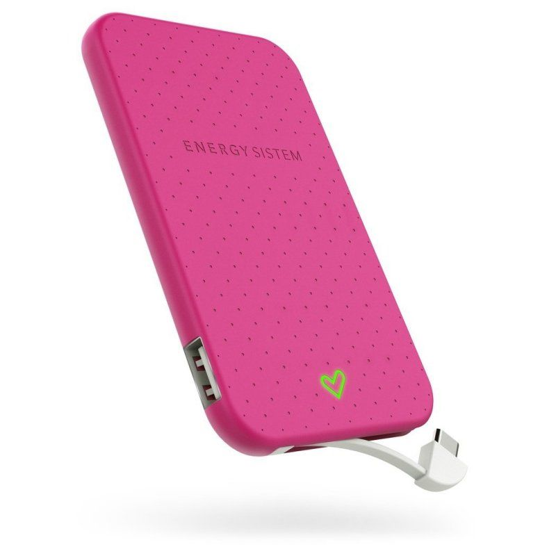 Energy Sistem Extra Battery 2500 Fuchsia 2500mHA