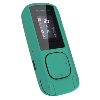 Ver Energy Sistem MP3 Clip 8GB Radio SD Menta