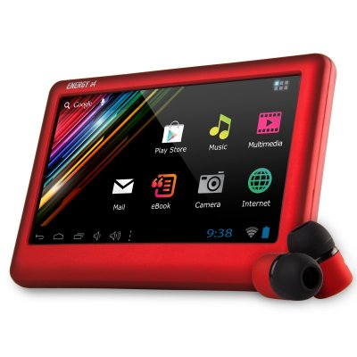 Energy Sistem Tablet A4 43 4gb Ruby Red