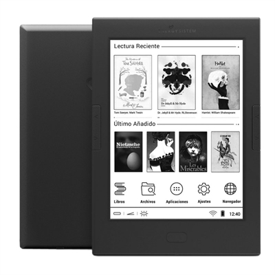 Ver Energy Sistem ebook eReader Pro 4 6 Tactil Luz