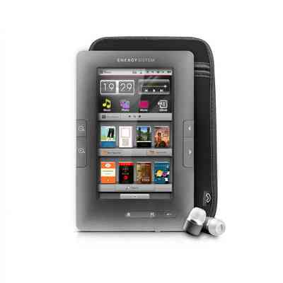Energy Lector Libro Electronico C4 Touch Gris 4gb
