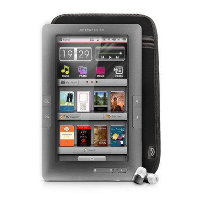 Energy Lector Libro Electronico C7 Touch Gris 4gb