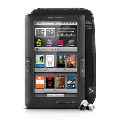 Energy Lector Libro Electronico C7 Touch Negro 8gb