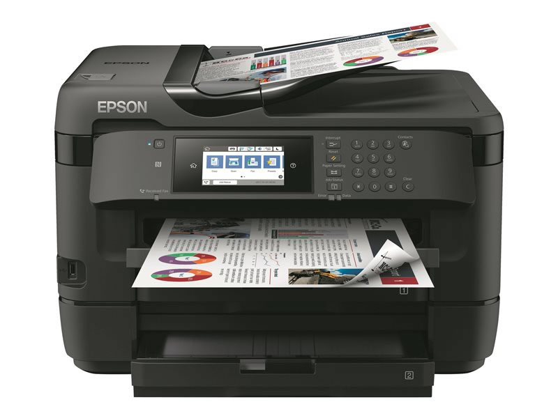 Epson WorkForce WF 7720DTWF Negra
