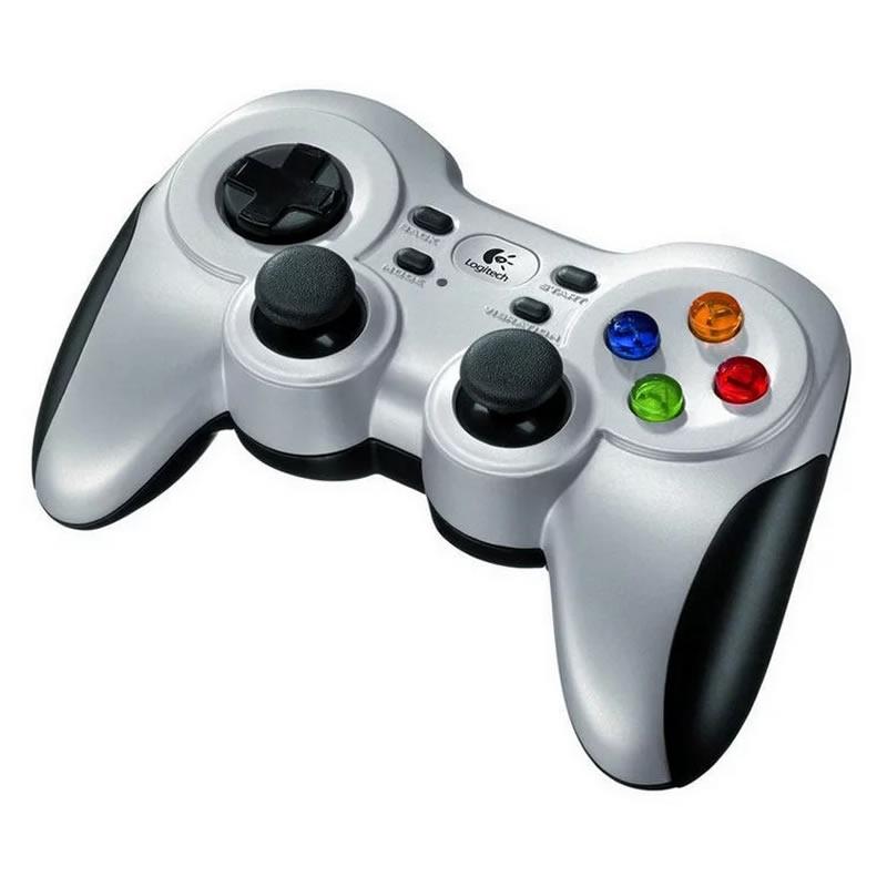 Gamepad Logitech F710 Wireless Gris