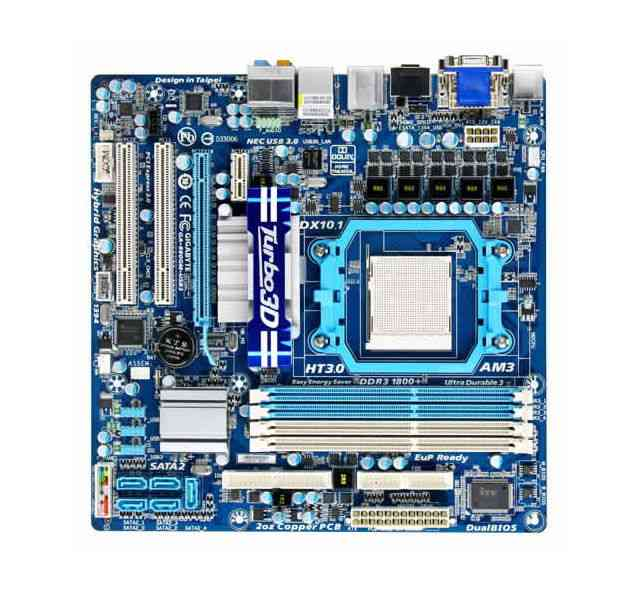 Gigabyte 880gma-usb3 Matx Am3