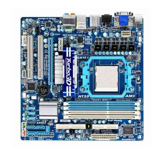 Gigabyte Placa Base 880gm-usb3 Atx Am3
