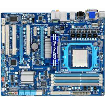 Gigabyte 880gm-d2h Am3 Ddr3 Amd 880gsb710 Matx