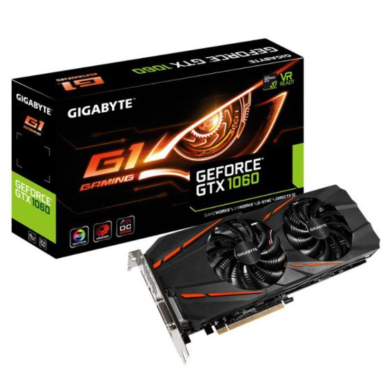 Gigabyte GTX 1060 GAMING 6GB DDR5
