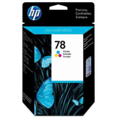 Ver HP 78 C6578DE cartucho tricolor Officejet