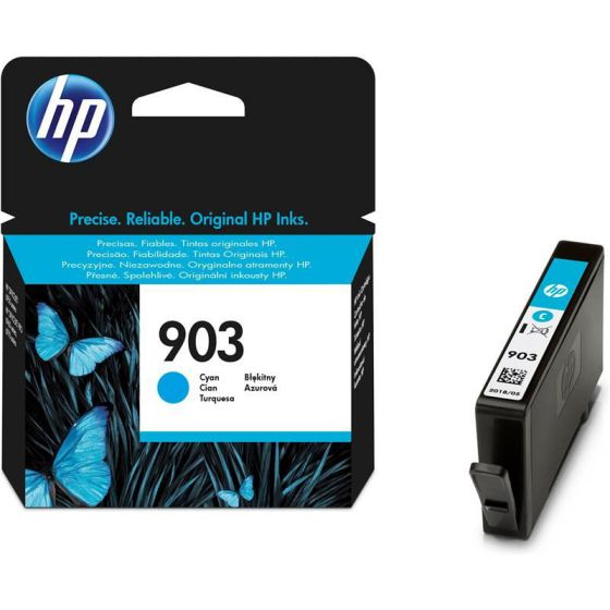 Ver HP 903 Cartucho Cyan T6L87AE Officejet Pro 6960