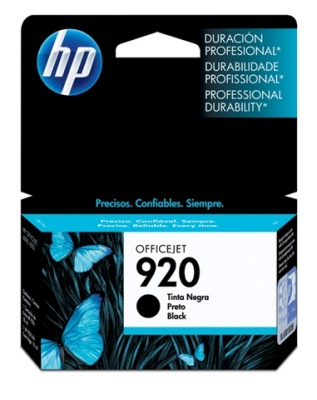 Hp 920 Cartucho Negro Officejet Serie 6000