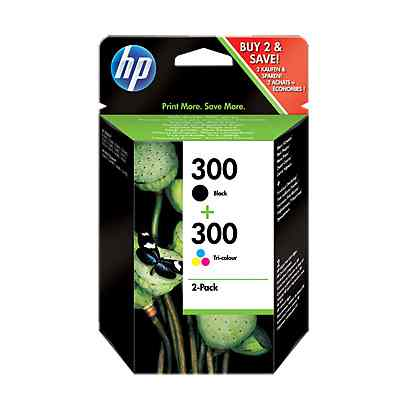 Ver HP Multipack 1x300 Negro 1x300 Color CN637
