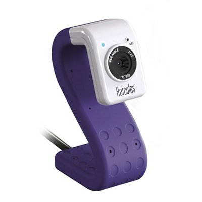 Hercules Webcam Hd720p Twist 5 Mpx Purpura