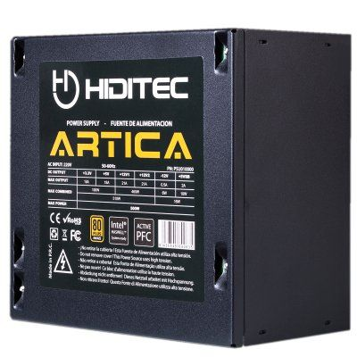 Ver Hiditec Artica 500W 80 Plus Bronze