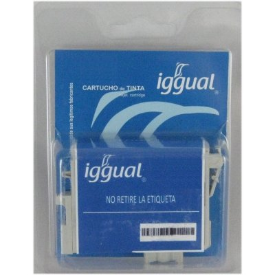 Iggual  Cartuchos Reciclado Cian Brother Lc1000c