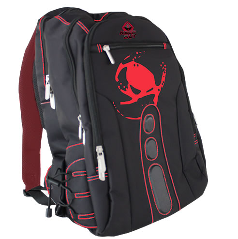 Ver KEEP OUT BK7R Mochila 156 Gaming  Negro y Rojo