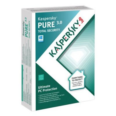 Kaspersky Pure 30 3l1ano Attach