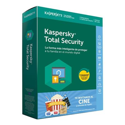 Ver Kaspersky Total Security MD 3L1A Entrada Cine EE
