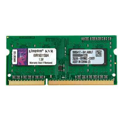 Ver Kingston KVR16S11S84G SoDim DDR3 4GB 1600MHz SR