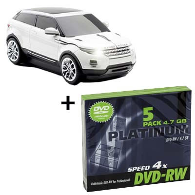 Kit Click Car Raton Inal Rrover Evoque Pack Dvd