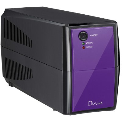 L-link Sai Off Line De 550va Color Morado