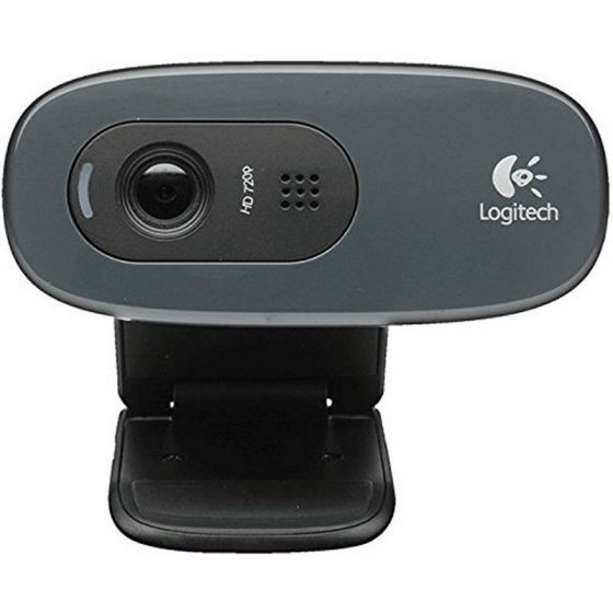 Ver Logitech C270 WebCam HD 720p 3Mpx USB Negra