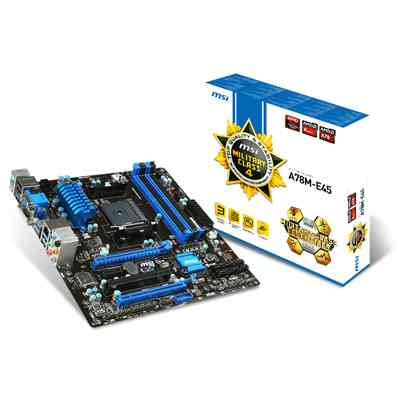 Msi Placa Base A78m E45 Matx Fm2