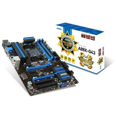 Msi Placa Base A88x G43 Atx Fm2